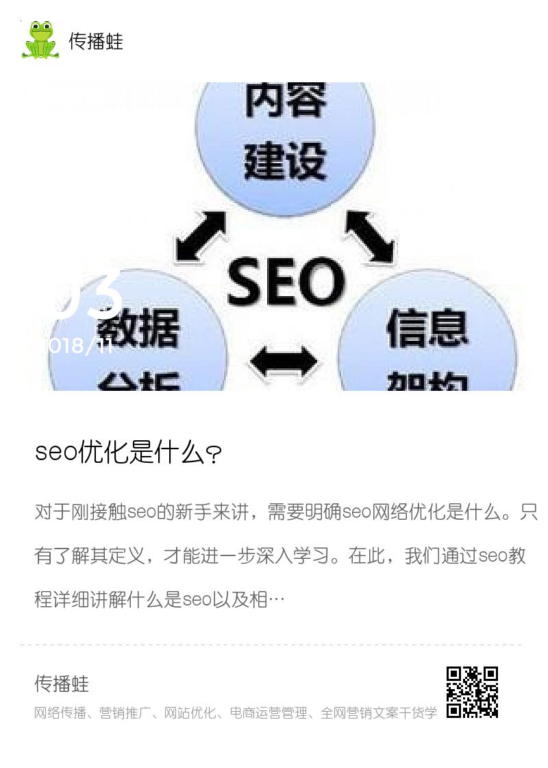 seo优化是什么?分享封面